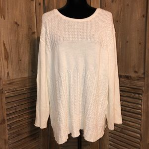 Alfred Dunner sweater 3X